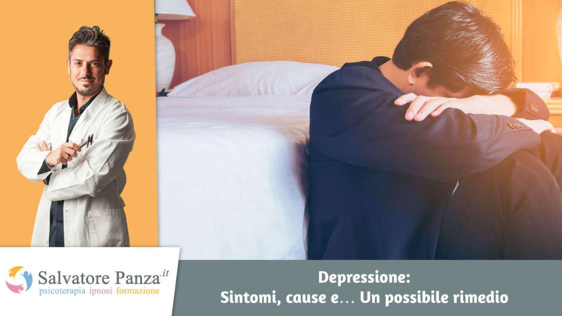 Depressione: Sintomi, cause e… Un possibile rimedio