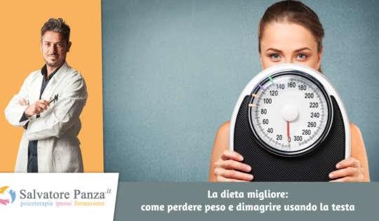 La dieta migliore: come perdere peso e dimagrire usando la testa