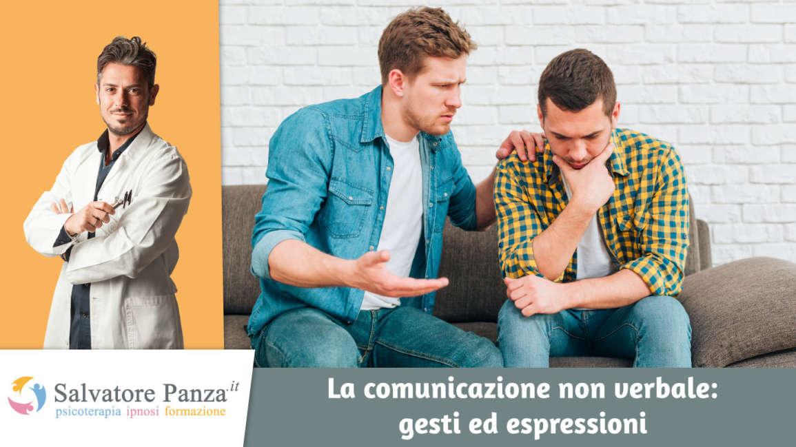 La comunicazione non verbale: gesti ed espressioni