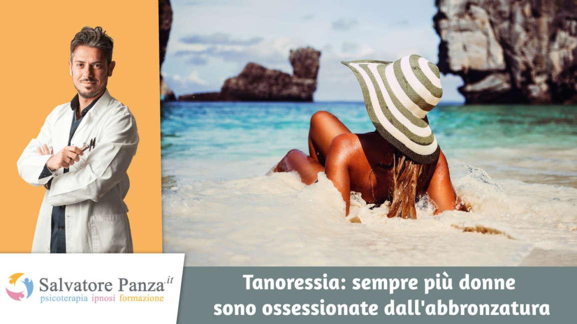 """Le donne sempre abbronzate? Soffrono di """"Tanoressia""""!"""